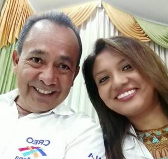 Carlos Zabala y Daniela vasconez