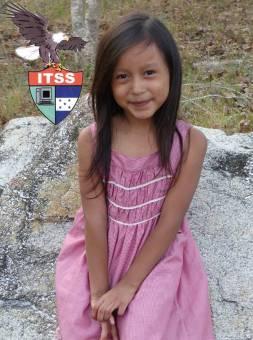 Candidata a Reina de las Flores 2do y 3er Grado Fabiola Villanueva