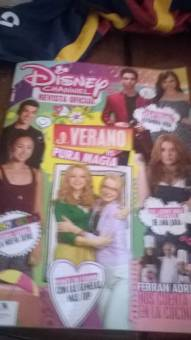 esta es la revista disney channel
