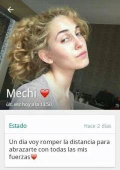 TE AMO MECHI..