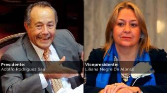 Adólfo Rodríguez Saa - Liliana Negre (Compromiso Federal)