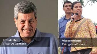 Víctor De Gennaro - Evangelina Codoni (Frente Popular)