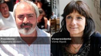 Alejandro Bodart - Vilma Ripoll (Nueva Izquierda)