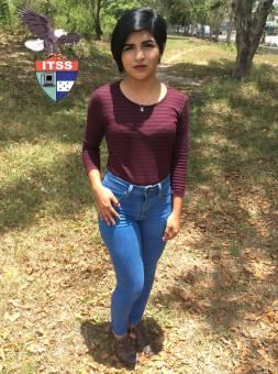 Candidata a Reina de las Flores 2do B.T.P. Contaduria Midler Rodriguez