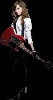 Porque no canta por cantar,canta por amor a la m�sica y entrega lo mejor de s�,componiendo sus propias canciones.