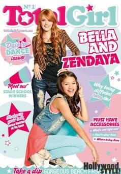 por salir en revistas con Bella