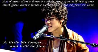 A Little Bit Longer♪♫ Jonas Brothers-N.J