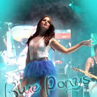 Natasha Dupeyron  blue ponys