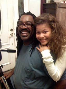 Zendaya Coleman y su padre