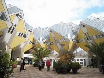 Casas cúbicas en Rotterdam - Holanda