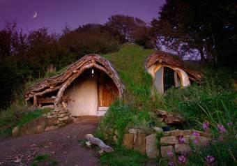 La casa de los Hobbits - Gales - Gran Breta�a