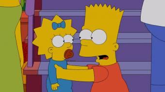 Bart y Maggie