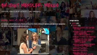 BRIDGIT MENDLER MEXICO