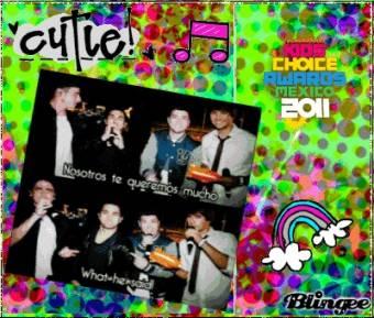 Big Time Rsuh recibe el premio como Mejor Artista Internacional y como Mejor Serie del año en los KCA Mexico 2011