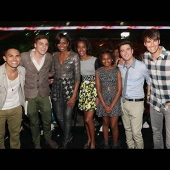 Big Time Rush es reconocido por la primera dama de los Esatdos Unidos Michael Obama como el mejor grupo musical del mundo y sus hijas son sus mas grandes fans de los chicos