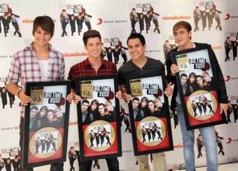 Big Time Rush gana DISCO DE ORO  por su Album BTR en Mexico y en varios paises por sus Altas ventas mundialmente