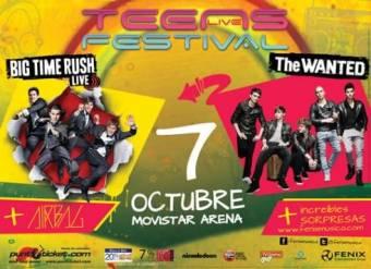 Big Time Rush y The Wanted juntos como presentadores principales en el prestigiado Tenn Live Festival