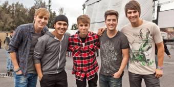 Justin Bieber es el mejor amigo de los chicos de Big Time Rush