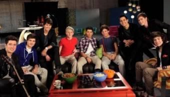 Big Time Rush y One Direction son grandisimos amigos