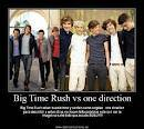 one directionvs big time rush
