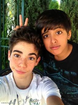 cameron y karah de 11 y 12 años