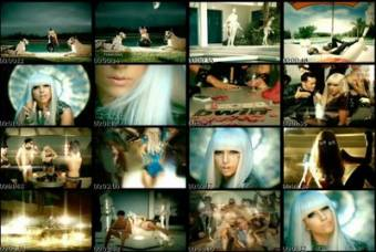 Segmentos Del Video Musical Poker Face