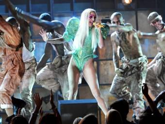 Gaga en los grammy