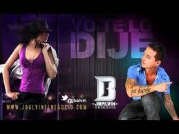 Yo Te Lo Dije (J.Balvin)