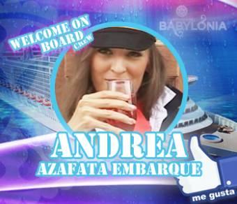 ANDREA (Azafata Embarque)