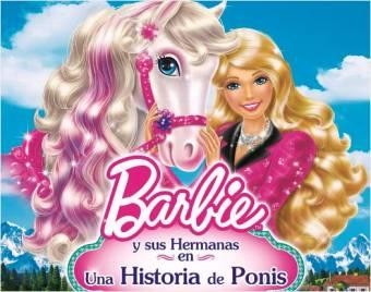 Barbie y sus hermanas en una historia de ponis