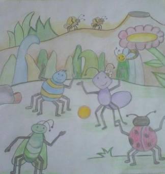Maruja la hormiga floja