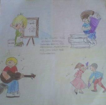 Actividades artisticas complemento de la educación