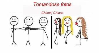 CHICOS CHICAS