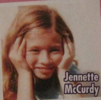 jenntte mcCurdy cuando pequeña