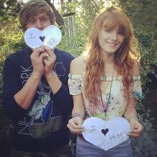 Bella Thorne y Garrett Backtrom