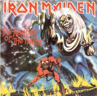 Eddie clasico. Iron maiden, Killers, The number of the beast, No prayer for the dying