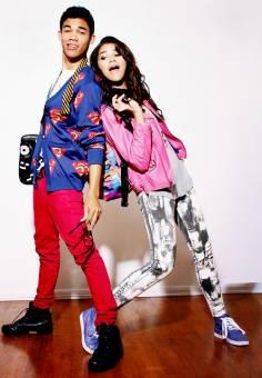 Zendaya y Roshon Fegan.