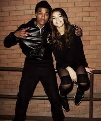 Zendaya y Trevor Jackson.