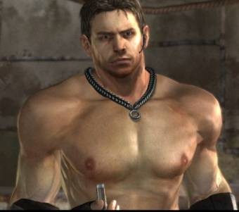 Chris Redfield (potro sexy pero con nathan no gana)