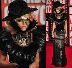 Lady Gaga es la mas extravagante