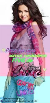 ♥ Para los que somos verdaderos FANS de SELENA GOMEZ ♥