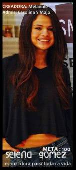 • Selena Gomez Es Mi Idola Para Toda La Vida •