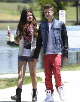 Justin y Sel