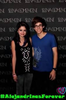 Selena Gomez y Alejandro Avilez