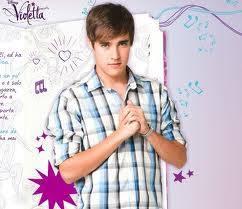 Leon :el guapo confia en violetta