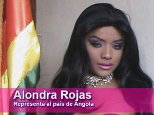 Alondra Rojas - Miss Angola