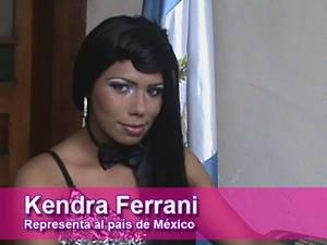 Kendra Ferrani - Miss M�xico