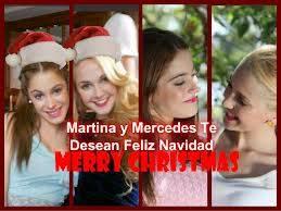 por desearnos feliz navidad junto a su mejor amiga martina stoessel