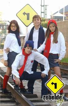 ERREWAY (telenovela:Rebelde Way; version:Argentina)
