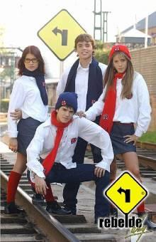 ERREWAY (telenovela:Rebelde Way; version:Argentina)